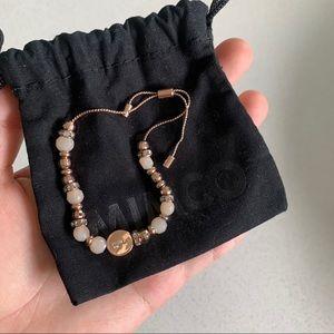 rose gold mimco bracelet